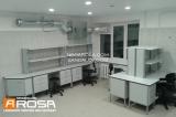 Arosa лабораторная мебель фото химической лаборатории