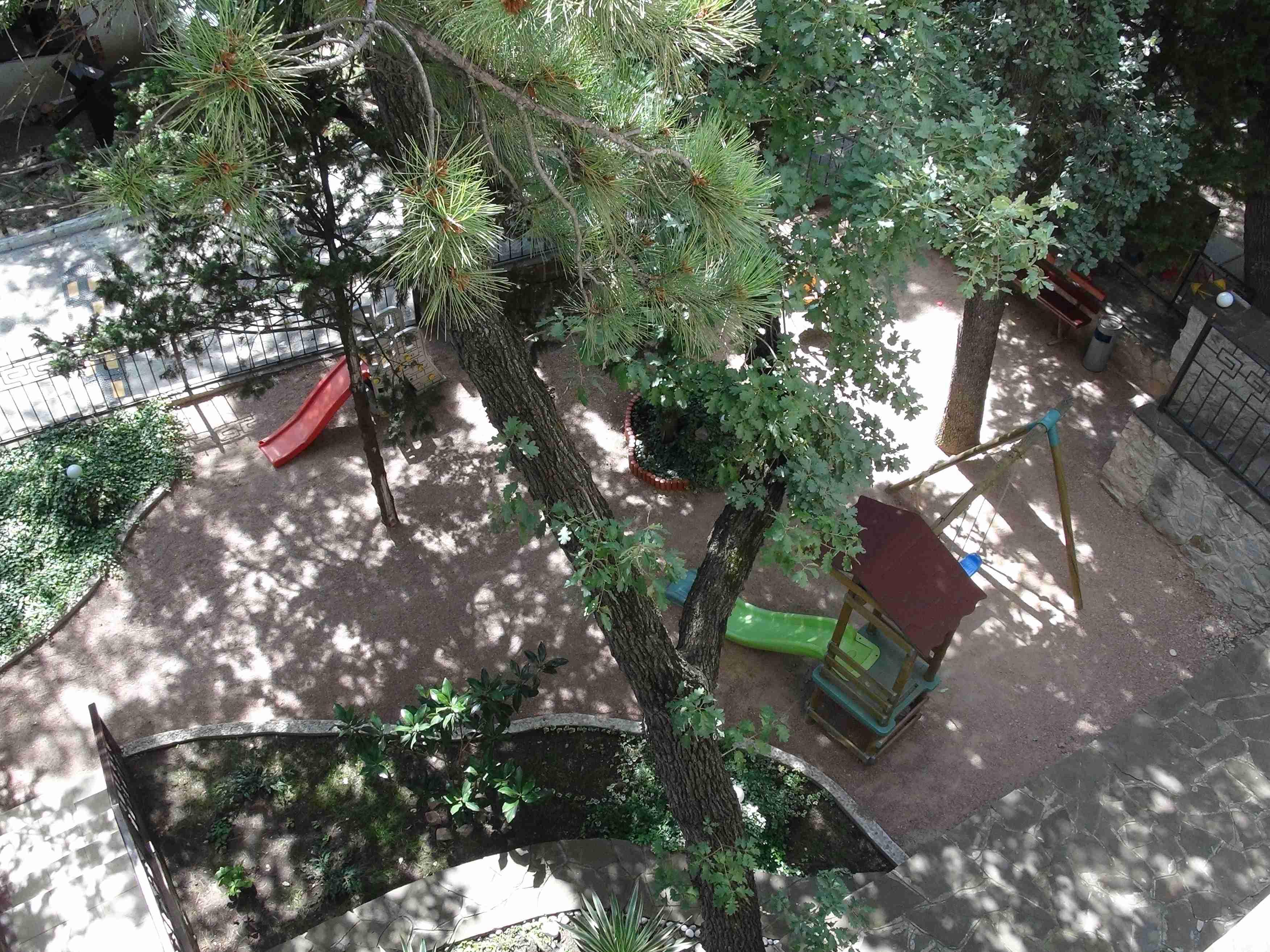 Фото дворика Рубикона