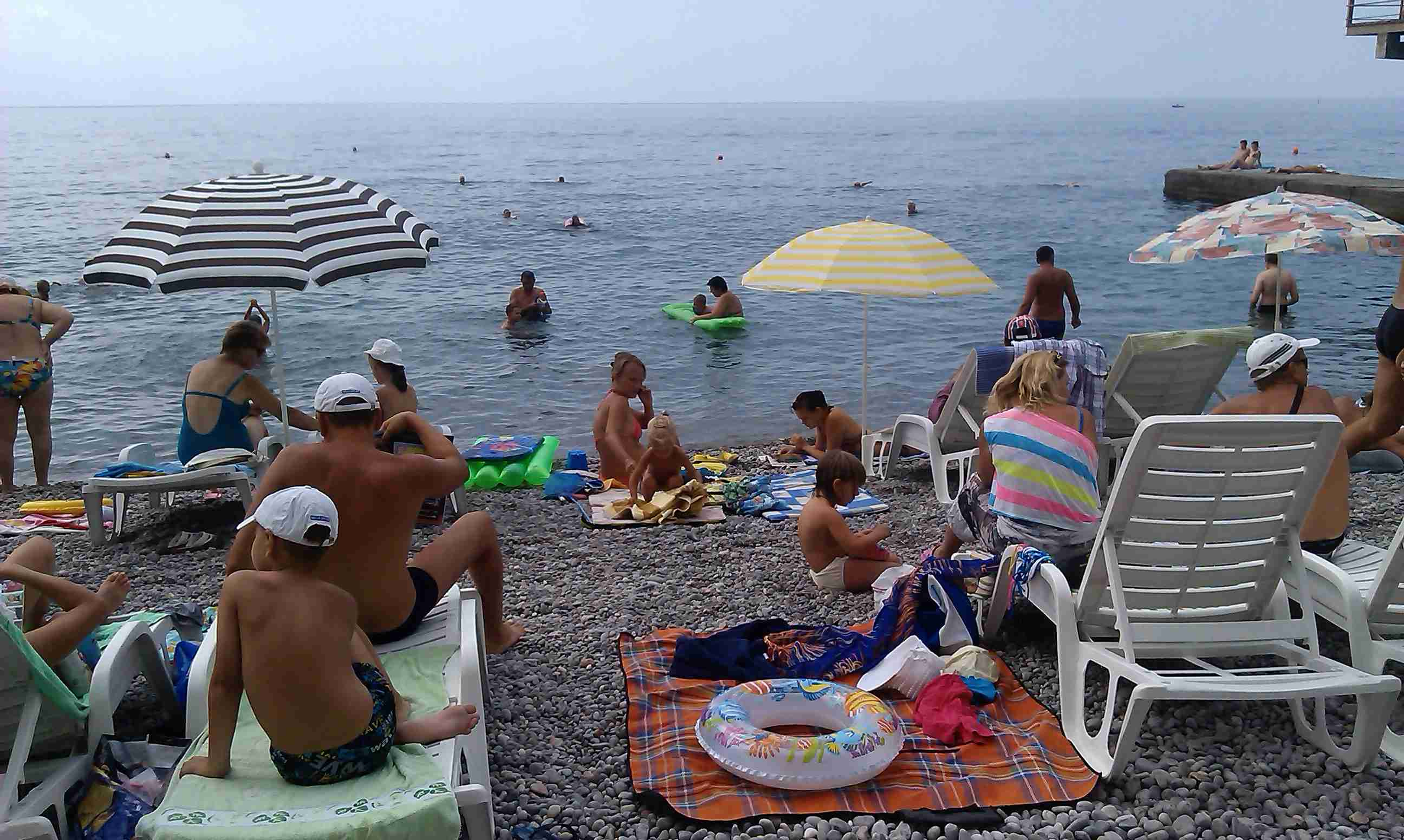 Фото пляжа Украины