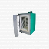 ЭКПС 50, Муфельная печь с одноступенчатым микропроцессорным регулятором, автономн. Вытяжка (5003), +