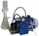 Система для фильтрации и дегазации растворов