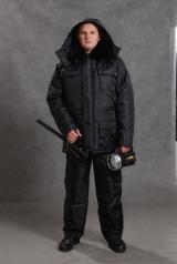 Куртка охранника зимняя (удлиненная) ЗИМА-2
