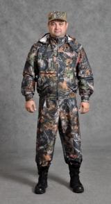 Костюм охотника летний с капюшоном (ткань Хантер, с мембраной)