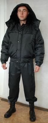 Куртка охранника зимняя (укороченная) ЗИМА